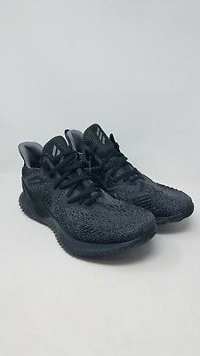 a1f6e4ae335ff Adidas Alphabounce Beyond Black AQ0573 Athletic Running Sneakers Men s size  11.5