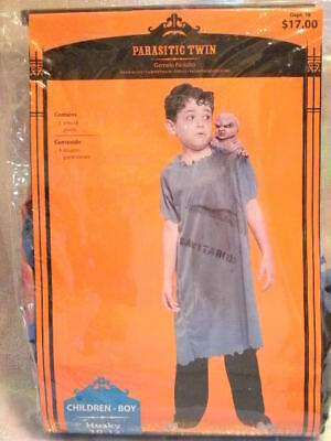 COSTUME *PARASITIC TWIN* boy husky 10-12 NEW WITH PACKAGING