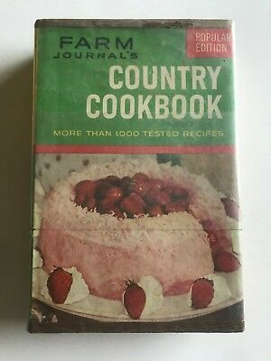 Vintage Farm Journal's Country Cookbook 1959  HC Illustrated w/Plates