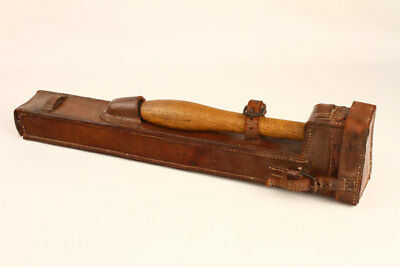 Rare WWI 1918 R&J Beck Brass Trench Periscope #25 Great Britain Leather Case