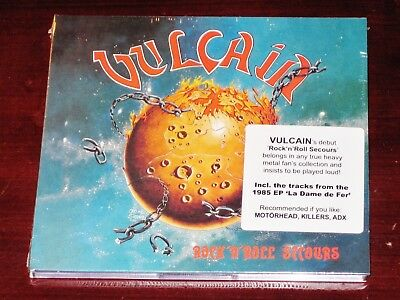 Vulcain: Rock 'N' Roll Secours + La Dame De Fer CD 2019 Reissue USA Digipak NEW