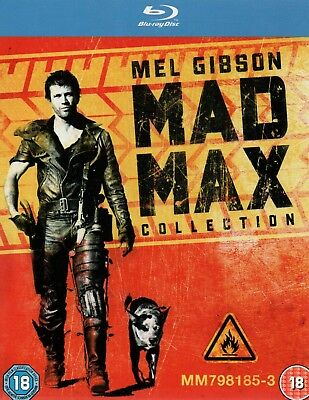 MAD MAX COLLECTION - The First 3 Films With Mel Gibson - Blu-Ray Boxset
