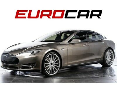 2015 Model S 70D (w/ Autopilot) Autopilot ,Premium Interior and Lighting, Black Next Generation Seats