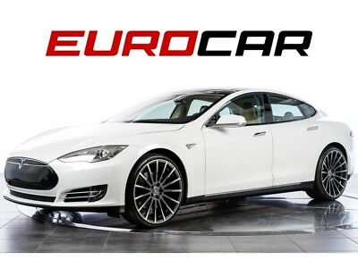 "2013 Model S 85 (new 22"" wheels) All Glass Panoramic Roof, 22"" ACE 'Devotion' Matte Mica Grey Wheels"