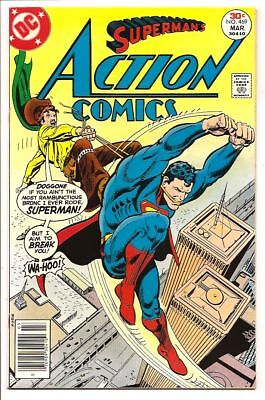 Action Comics #469 Nm 9.4 Undistributed, Unread & Unpressed Copy! Bronze Age Dc!