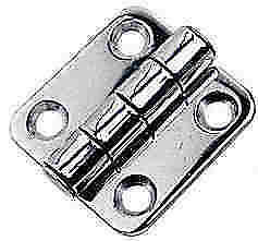 "Sea Dog 201582-1 Stainless Steel Butt Hinge 2"" x 2"" 4205"