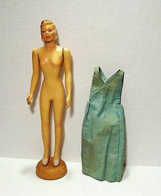 Vintage 1940'S Composition Sewing Doll Mannequin Manikin**as Is**wow!!