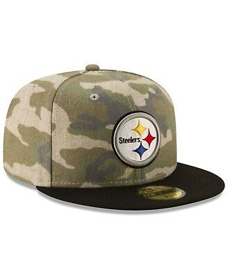 0029ca8d NEW ERA 59FIFTY Pittsburgh Steelers BRAND NEW fitted cap hat black ...