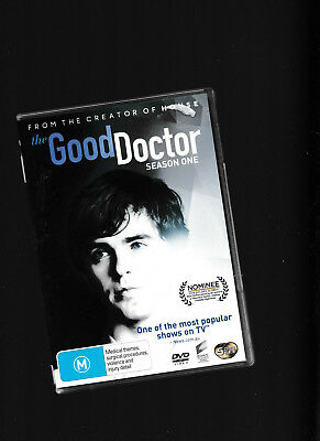 The Good doctor Season One 5 DVD Set - Shaun Murphy a young Surgeon with autusm