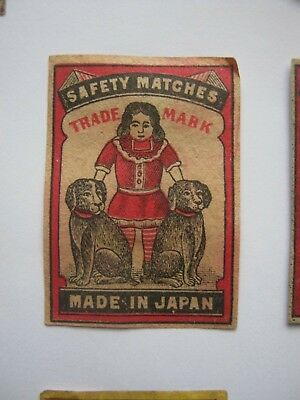 Old Japanese Matchbox Label.design 2.