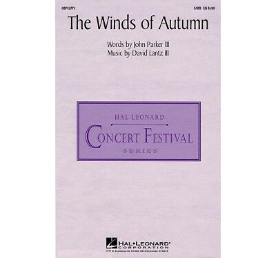 Hal Leonard The Winds of Autumn SATB composed by Lantz, Parker