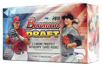 Baltimore Orioles 2018 Bowman Draft JUMBO 8 Box Full Case Break 12