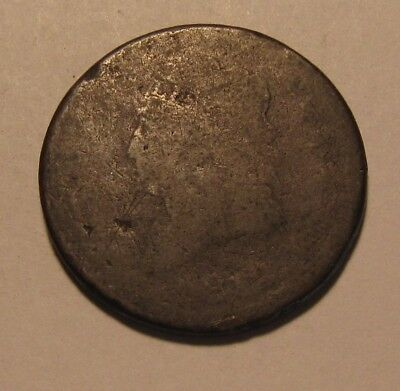 1812 Classic Head Large Cent Penny - Well Worn Condition - 36FR
