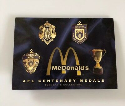 McDonald's AFL Centenary Medals - 1996 Elite Collection