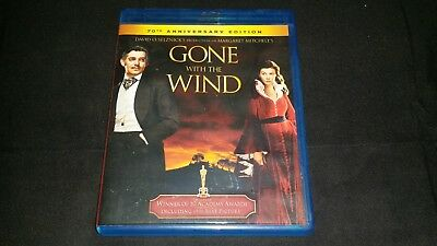 Gone With The Wind Blu Ray Dvd 2010 70Th Anniversary Edition Movie Video Film