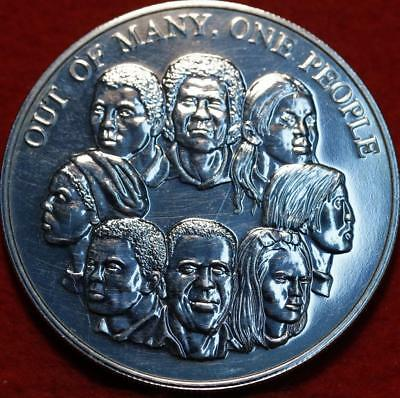 Uncirculated 1978 Jamaica $10 Out Of Many, One People Silver Foreign Coin
