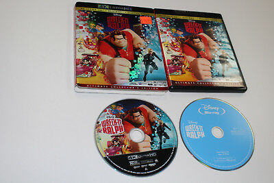 Wreck It Ralph (4K + Blu-ray + Slipcover. NO DIGITAL)