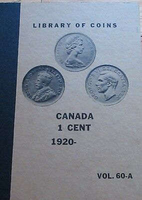 Library of Coins: Complete Set of Canada Small Cents (1920-1977) Rare Dates.