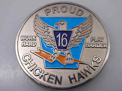 United States Air Force Academy Proud Chicken Hawks Challenge Coin