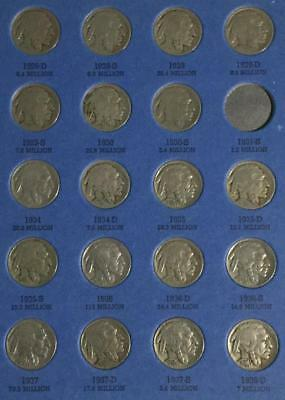 1928D-1938D US Buffalo Nickels Collection of 19 Different Coins!