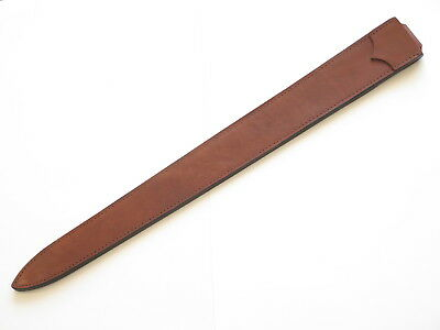 """Cas Hanwei Fixed 30.25"""" Blade Long Sword Medieval Norman Leather Sheath"""