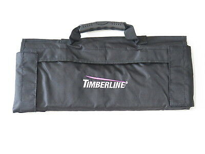 Timberline Black Nylon 17 Pocket Folding Knife Tool Roll Storage Display Case