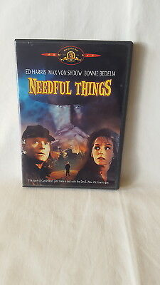 Needful Things ( DVD, 2002 ) Stephen King / Ed Harris / Max Von Sydow / HORROR
