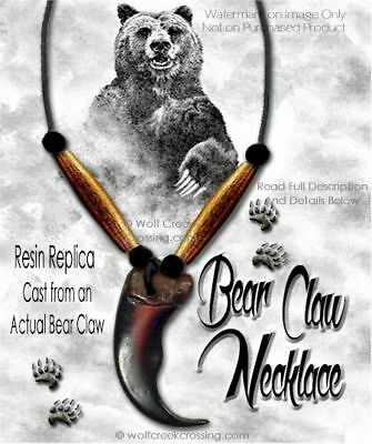 Free Ship - Bear Rugged Grizzly Claw Necklace - Grizzlies Wild Beast Jewelry  #1