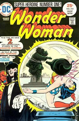 Wonder Woman (1st Series DC) #218 1975 VG Stock Image Low Grade