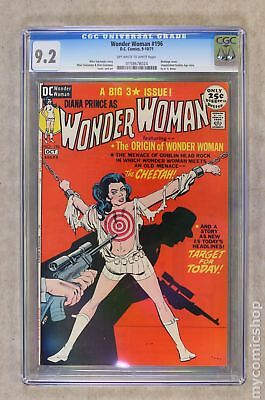Wonder Woman (1st Series DC) #196 1971 CGC 9.2 0158678024