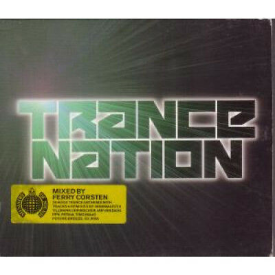 TRANCE NATION Various CD UK Ministry Of Sound 2002 36 Track 2 Disc EX-/EX