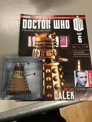Eaglemoss Doctor Who Figurine Collection Part 6 THE LAST DALEK