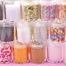 TOFOCO 30g Slime Clay Sprinkles For Filler For Slime DIY Supplies Candy