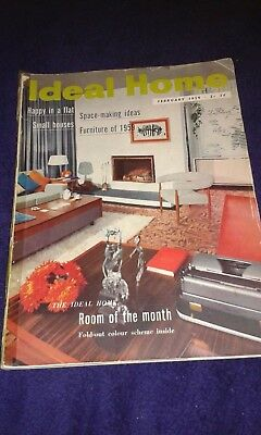 Ideal Home Magazine - February 1959