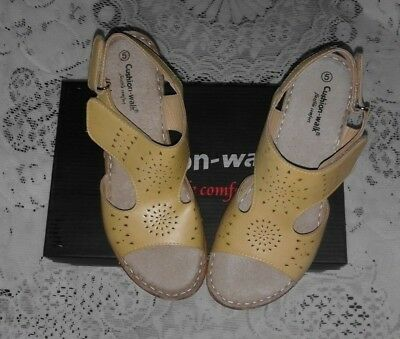 New In Box - Made By Cushion-Walk - Quality Sandal / Shoes - Uk 5