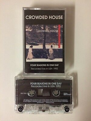Crowded House: Four Seasons In One Day (Recorded Live In USA 1992) cassette tape