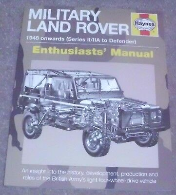 Haynes Military Land Rover 1948 onwards Series 11/11A to Defender