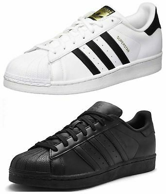 Adidas Superstar Trainers Mens Originals Sneakers Shoes UK Size 7 8 9 10 11 BNIB
