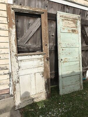 Salvaged Doors Great For Project