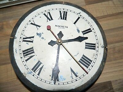 Magneta Electric  Wall Clock Dial Hands & Movement For Spares