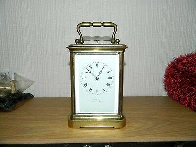 Japy Freres Repeater Carriage Clock Working