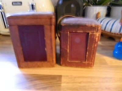 2 Carriage Clock Cases For Spares