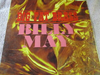 """Billy May,big fat brass,ungraded 12""""record,fair-good, fast post"""