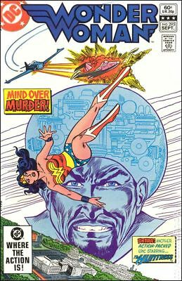 Wonder Woman (1st Series DC) #295 1982 VF Stock Image
