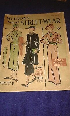 1930s Weldons Style Book 5 - Smart Streetwear (for women)