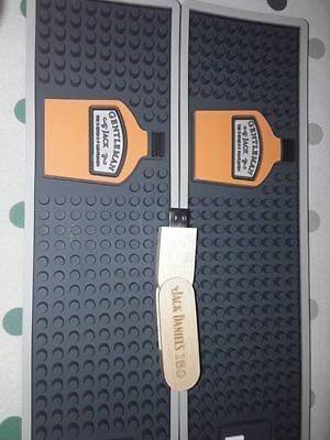Jack Daniels Whiskey Tennessee Old Number 7 150Th Anniversary Wooden Usb Stick