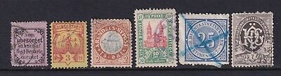 Norway, Denmark Old Local Used Stamps