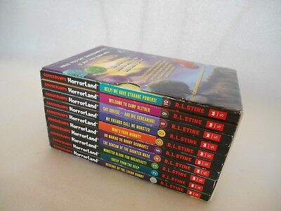 Goosebumps Horror Land  Collection by R L Stine