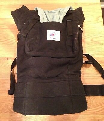 Ergobaby Original Carrier, Black And Turquoise, in Great Used Condition
