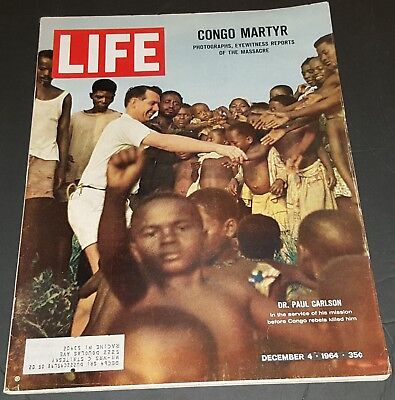December 4, 1964 LIFE Magazine advertising Dec 60s ads ad FREE SHIPPING 12 3 2 4